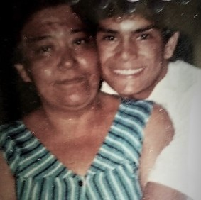 Guadalupe Leticia and Alejandro around 1991
